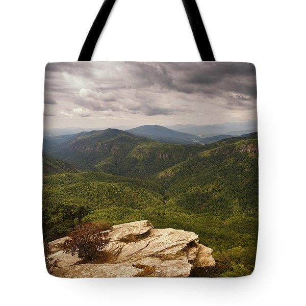 Green Gorge Tote Bag