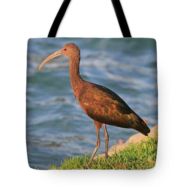 Green Ibis 4 Tote Bag