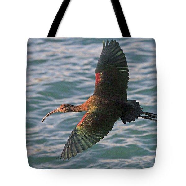 Green Ibis 6 Tote Bag