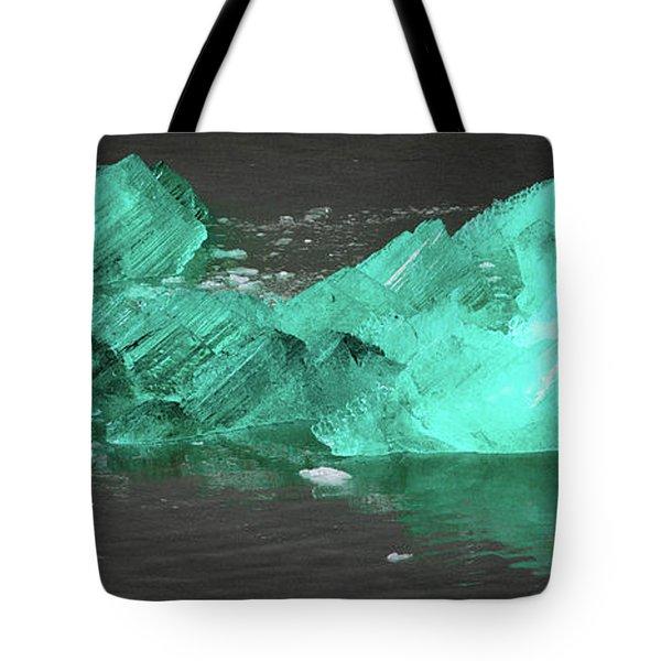 Green Iceberg Tote Bag