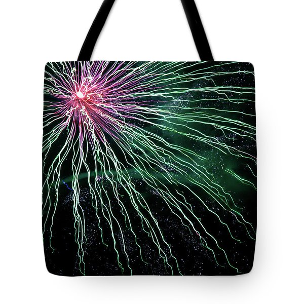 Green Independence Tote Bag by Adam Long