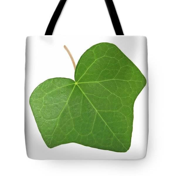 Green Ivy Leaf Tote Bag