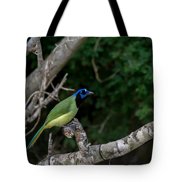 Green Jay Tote Bag