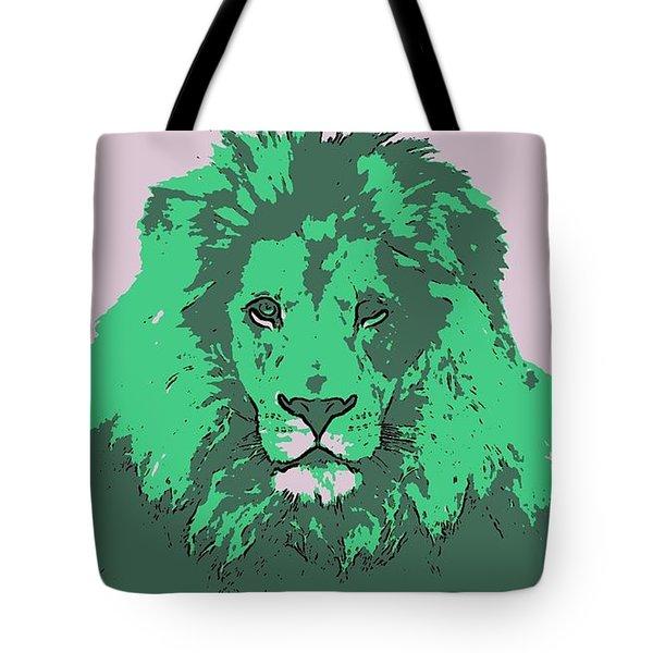 Green King Tote Bag