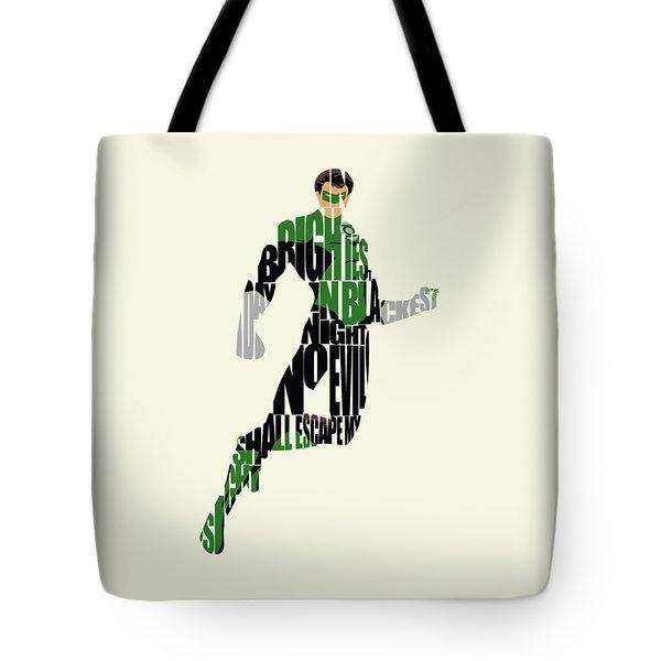 Green Lantern Tote Bag