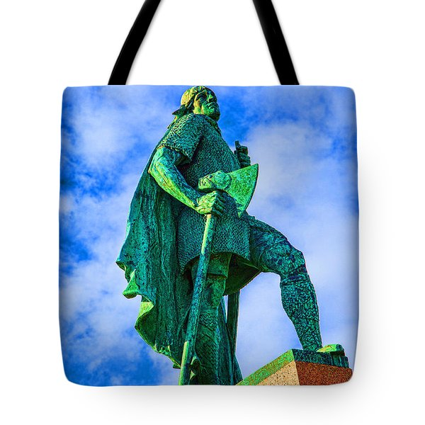 Tote Bag featuring the photograph Green Leader by Rick Bragan