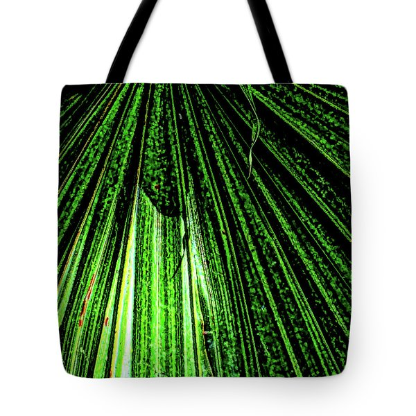 Green Leaf Forest Photo Tote Bag