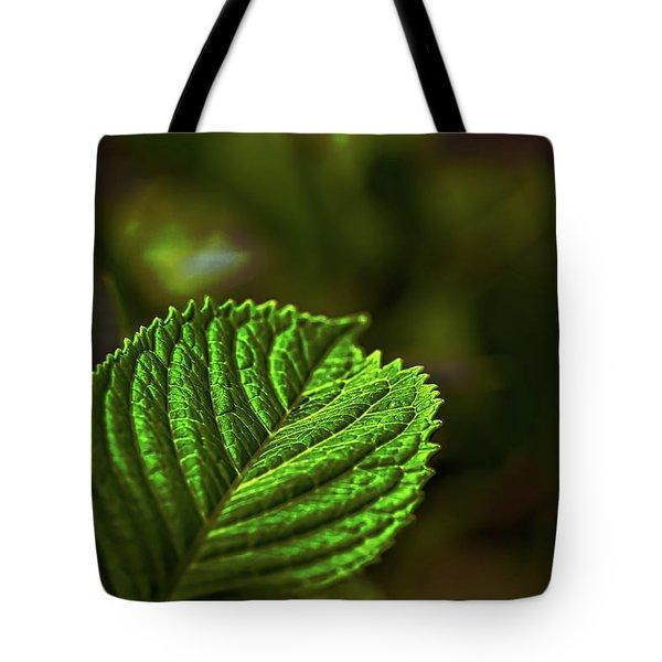 Green Leaf Tote Bag