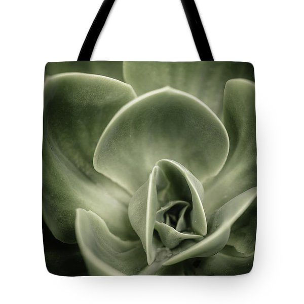 Tote Bag featuring the photograph Green Leaves Abstract IIi by Marco Oliveira