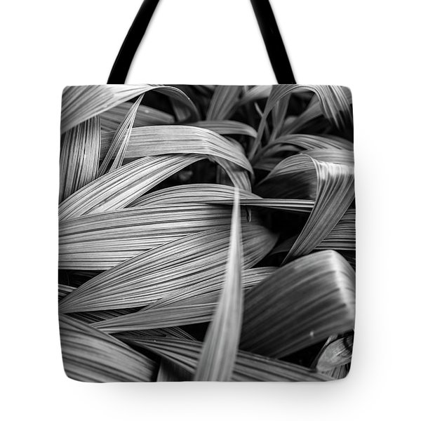Tote Bag featuring the photograph Leaves Textured And Background by Jingjits Photography