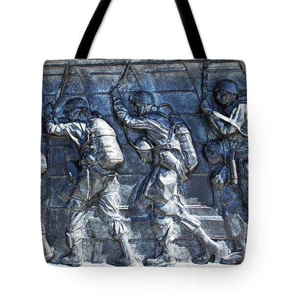 Green Light - Jump Time Tote Bag by David Bearden