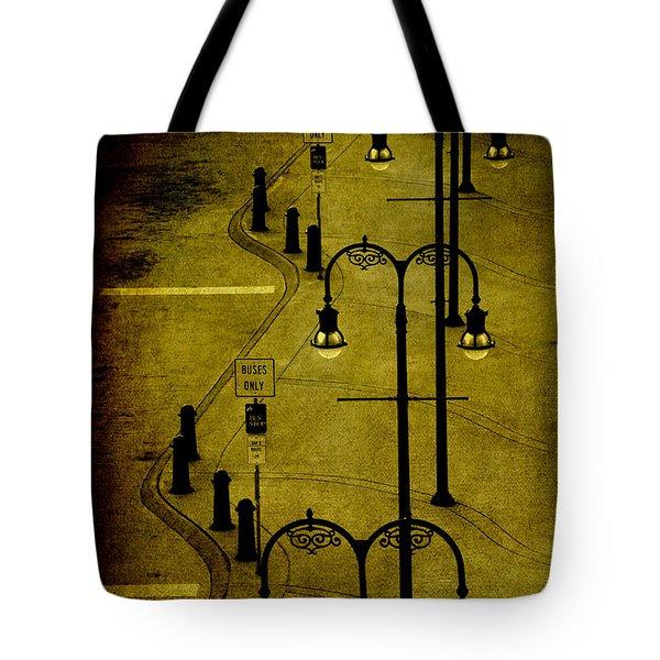 Green Light Tote Bag by Susanne Van Hulst