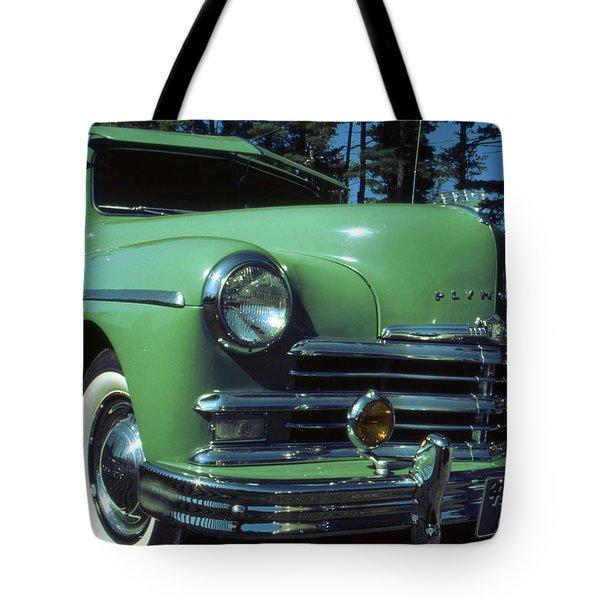 American Limousine 1957 - Historic Car Photo Tote Bag