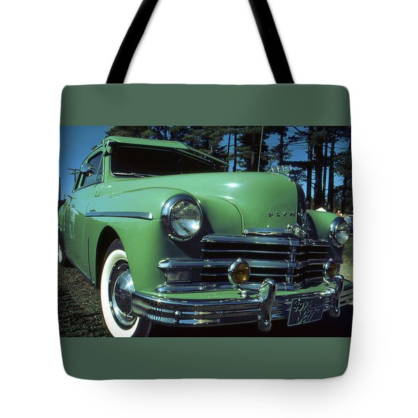 American Limousine 1957 Tote Bag by Art America Gallery Peter Potter