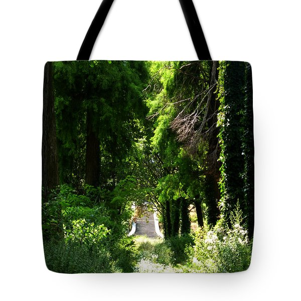 Green Lombardy Tote Bag