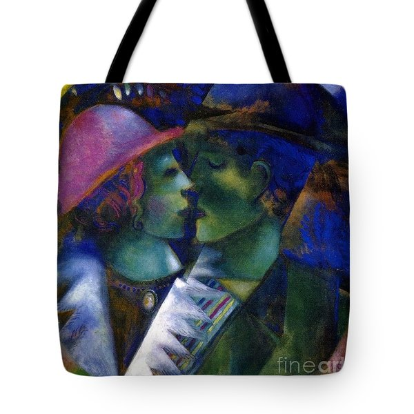 Green Lovers Tote Bag