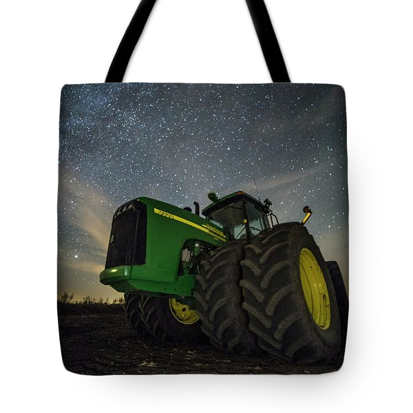 Tote Bag featuring the photograph Green Machine  by Aaron J Groen