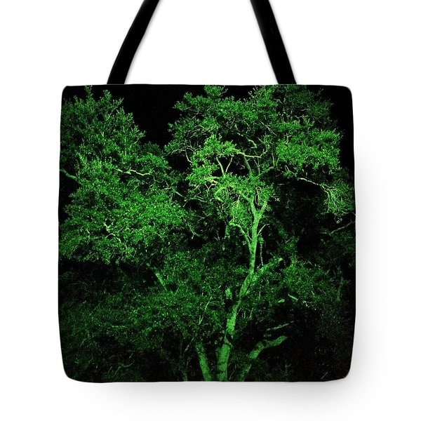 Green Magic Tote Bag by Doug Kreuger