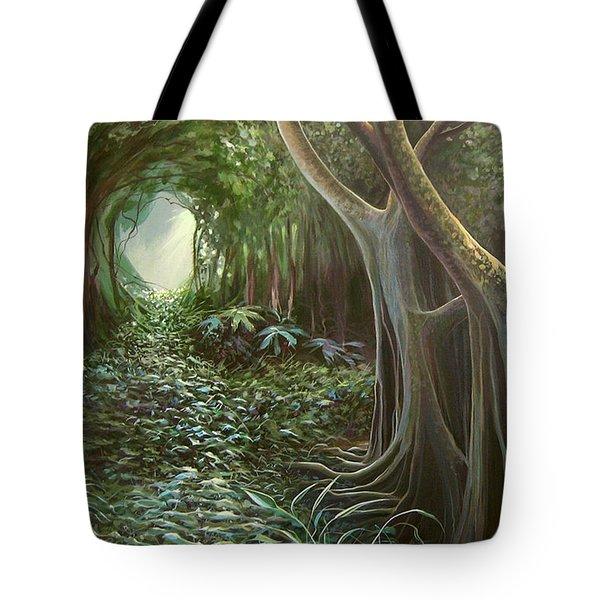 Green Mansions Tote Bag