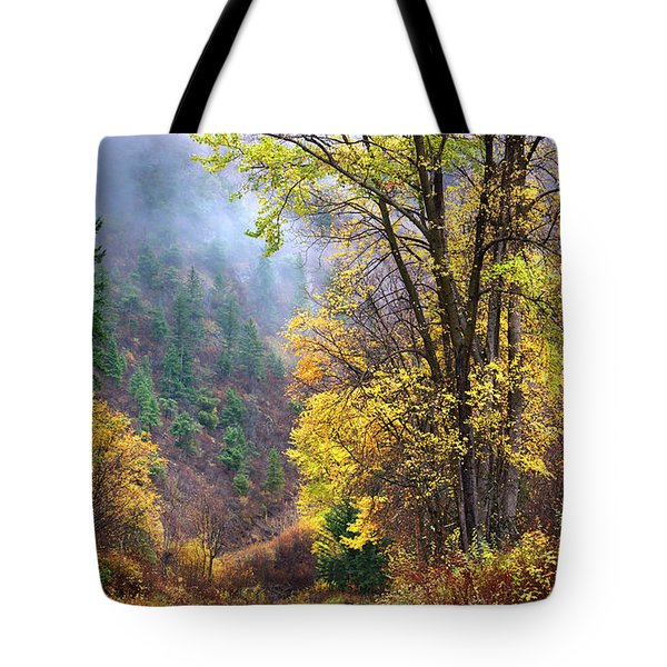 Green Mountain Fall Tote Bag