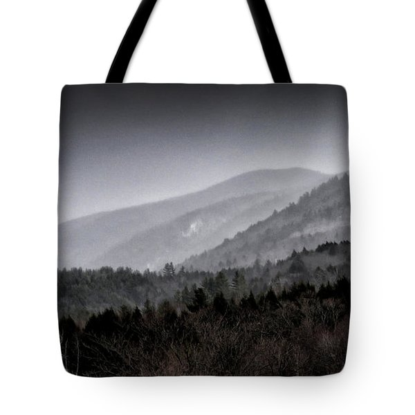 Tote Bag featuring the photograph Green Mountains - Vermont by Brendan Reals