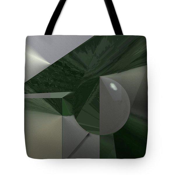 Green N Gray Tote Bag