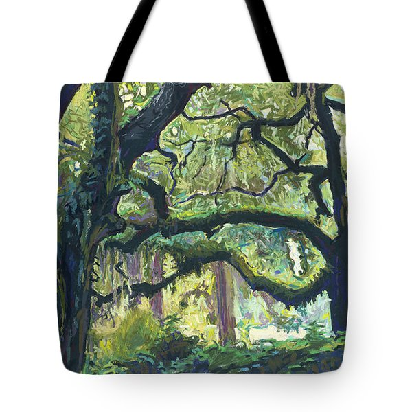 Green Oaks Tote Bag