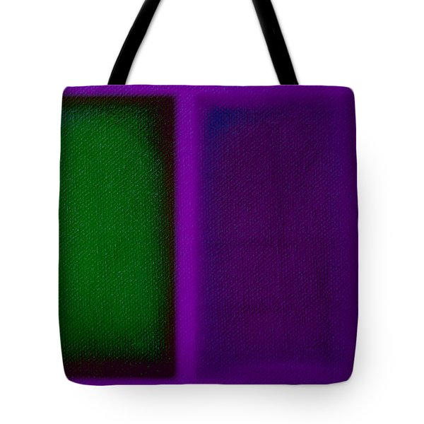 Green On Magenta Tote Bag