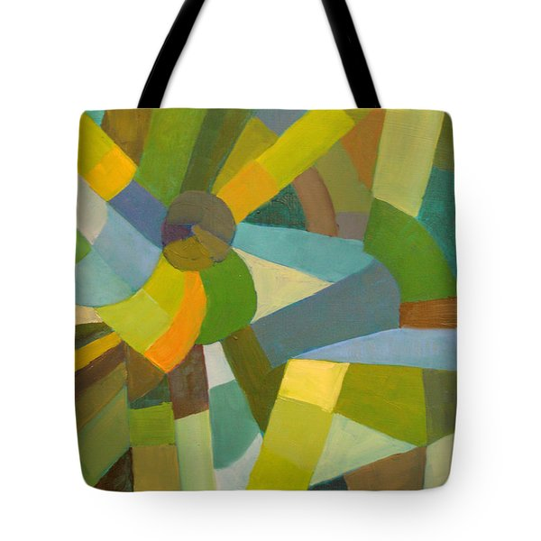 Green Pallette Tote Bag