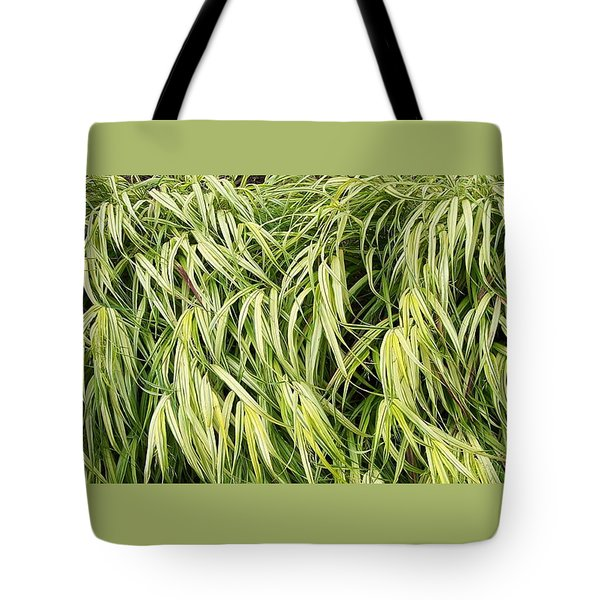 Green Plants Tote Bag