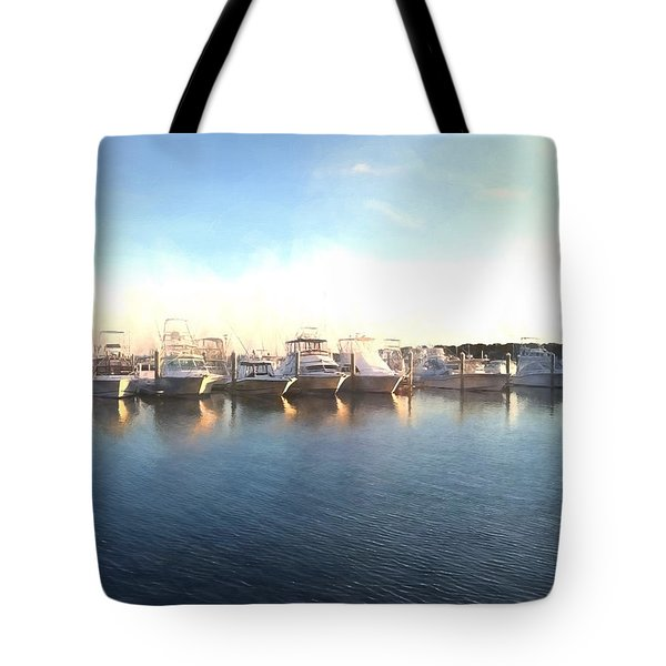 Green Pond Harbor Tote Bag