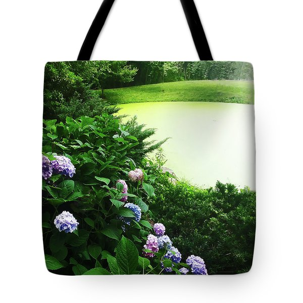 Green Pond Tote Bag