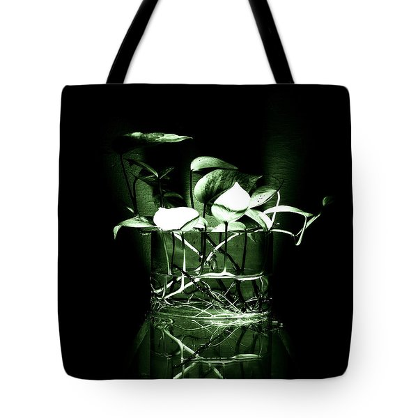 Green Tote Bag by Rajiv Chopra