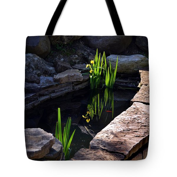 Green Reflections Tote Bag