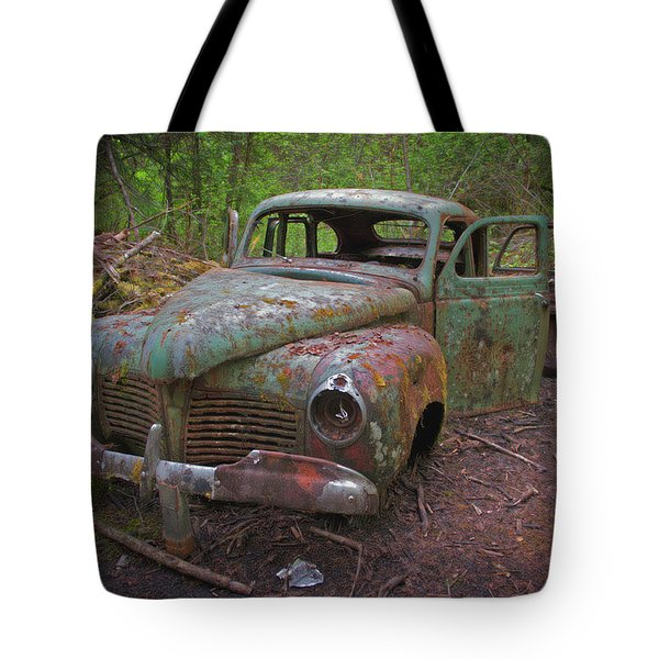 Green Relic Tote Bag