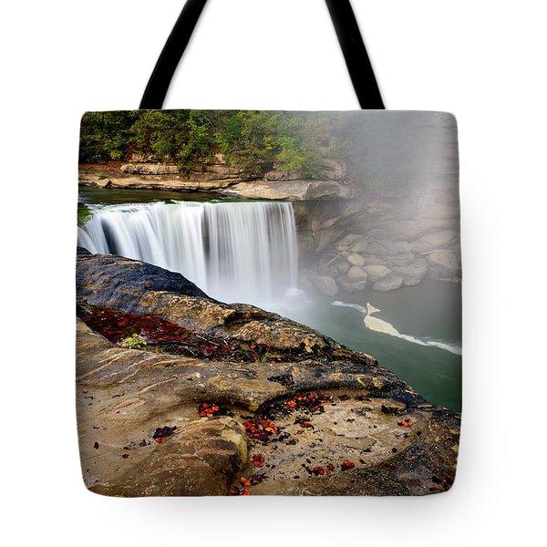 Green River Falls Tote Bag