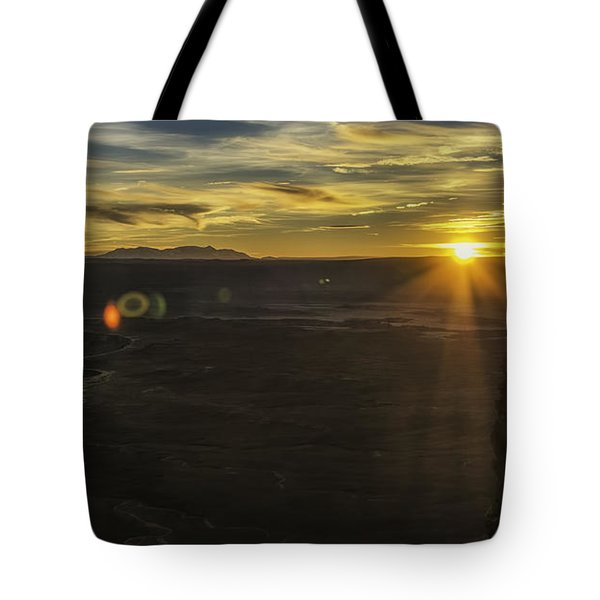 Tote Bag featuring the photograph Green River Flair  by Bitter Buffalo Photography