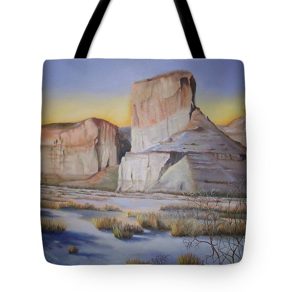 Green River Wyoming Tote Bag