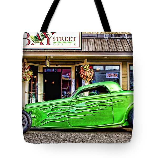 Green Roadster Tote Bag