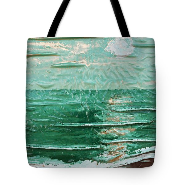 Green Sea Tote Bag