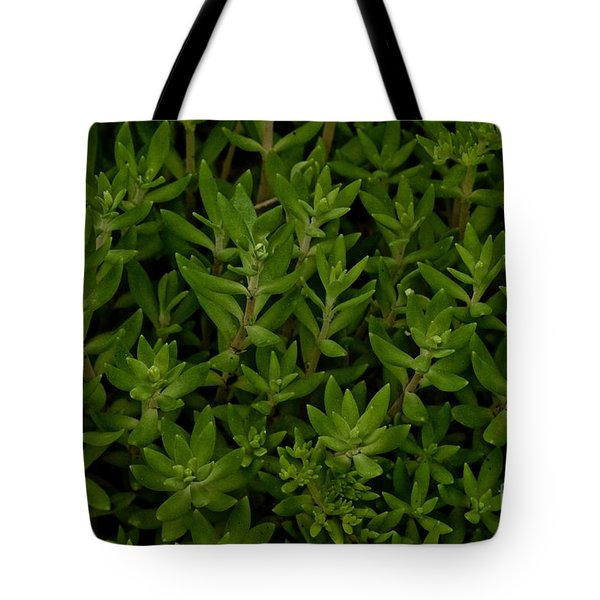 Green Shag Tote Bag by Tim Good