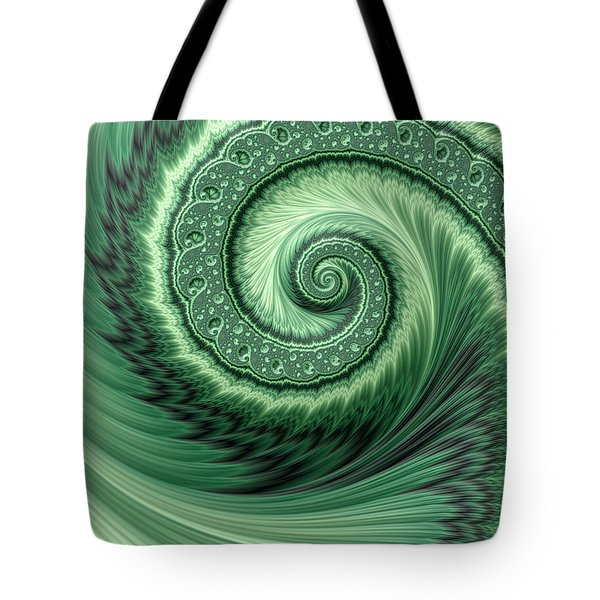 Green Shell Tote Bag
