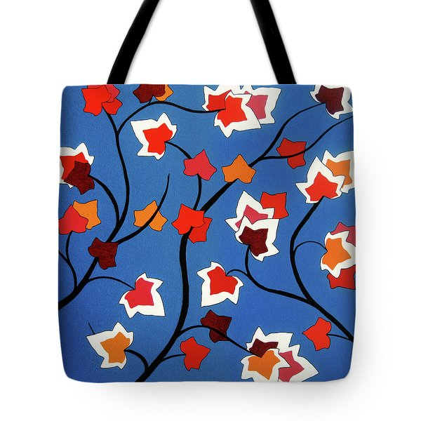 Green Shoots Of Recovery Tote Bag by Oliver Johnston