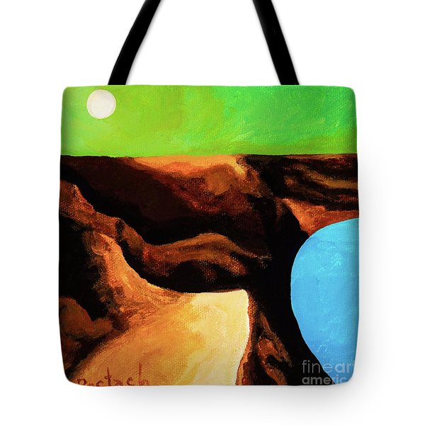 Green Skies Tote Bag by Igor Postash