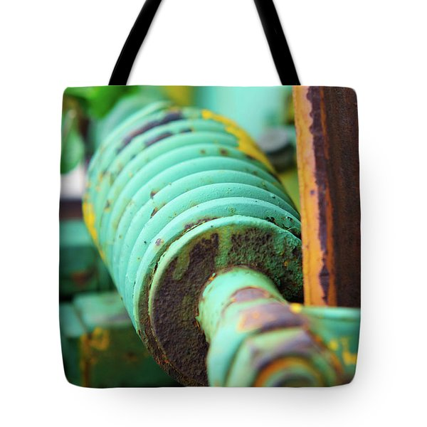 Green Spring Tote Bag