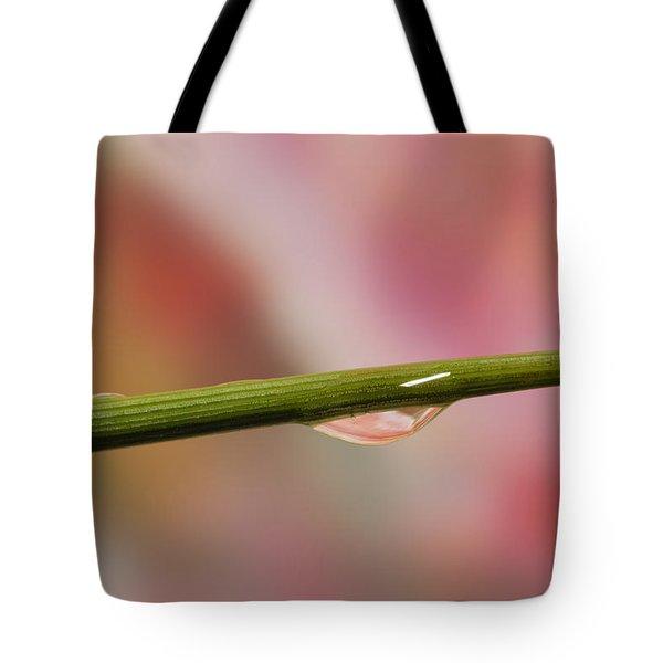 Green Stem Tote Bag