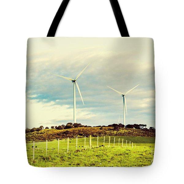 Green Tasmania Tote Bag