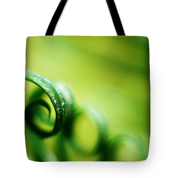 Green Tides Tote Bag by Catherine Lau
