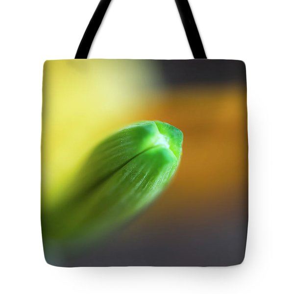 Green Tip Tote Bag