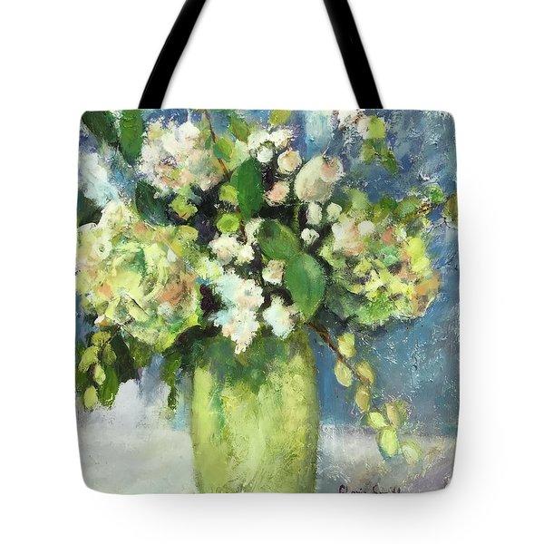 Green Vase Tote Bag